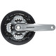 Shimano Tourney FC-TY701 Kurbelgarnitur Vierkant 6/7/8-fach 42-34-24 Z schwarz/grau
